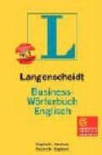 LANGENSCHEIDT BUSINESS-WÖRTERBUCH ENGLISCH