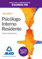 manual para la preparación del examen pir. volumen 1-9788414208519