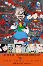 grandes autores de superman: scott mcloud   las aventuras del hombre de acero scott mccloud 9788416746019