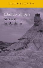 atravese las bardenas eduardo gil bera 9788416748419