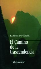 el camino de la trascendencia-karlfried graf dürkheim-9788427120419