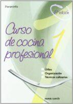 curso de cocina profesional (t. i) manuel garces rubio 9788428318419