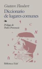 diccionario de lugares comunes gustave flaubert 9788441416819