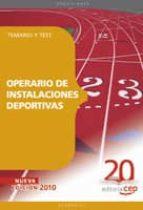 operario de instalaciones deportivas: temario y test-9788468106519