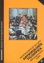 antropologia filosofica 9788476390719