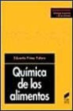 quimica de los alimentos eduardo primo yufera 9788477384519