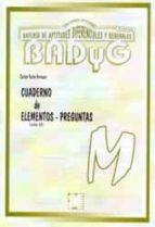 badyg m. cuaderno de aplicacion revision 2011-carlos yuste hernanz-9788478698219
