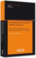 fundamentos de derecho español privado-john balouziyeh-9788490148419