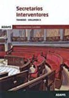 secretarios interventores temario-volumen ii-9788491470519