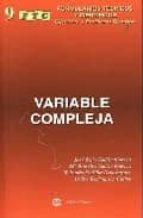 variable compleja jose luis galan garcia 9788496486119