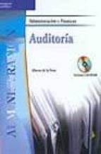 auditoria (administracion y finanzas) (incluye cd rom) alberto de la peã'a 9788497322119