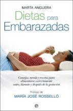 dietas para embarazadas marta anguera 9788497346719