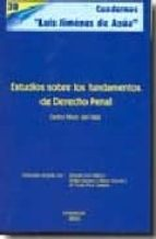 estudios sobre los fundamentos de derecho penal carlos perez del valle 9788497729819