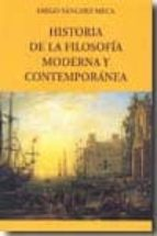 historia de la filosofia moderna y contemporanea-diego sanchez meca-9788498499919