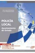 policia local del ayuntamiento de oviedo. test psicotecnicos y de personalidad 9788499378619