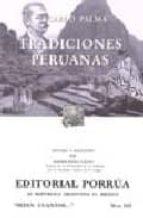 tradiciones peruanas ricardo palma 9789700766119