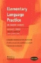 elementary language practice for spanish students: con clave-michael vince-9780333798829