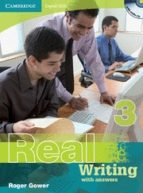 real writing with answers and audio-cd (nivel 3)-roger gower-9780521705929