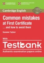 common mistakes at first certificate . . . and how to avoid them with testbank (internet access code for 4 online practice tests) 9781316630129