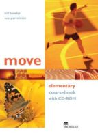 move elementary coursebook + cd-rom-9781405095129