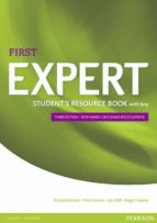 expert first 3rd edition student s resource book with key-9781447980629