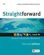 straightforward (2nd edition - split) 1a (a2 / elementary) student s book & workbook with workbook audio cd-9781786329929