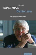 reiner kunze. dichter sein (ebook)-9783954621729