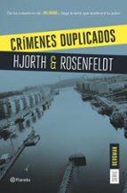 crímenes duplicados (serie bergman 2)-michael hjorth-hans rosenfeldt-9788408159629