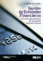 gestión de entidades financieras ana blanco mendialdua 9788415986829