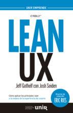 lean ux jeff gothelf 9788416125029