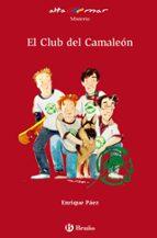 el club del camaleon enrique paez 9788421696729