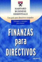 finanzas para directivos 9788423420629