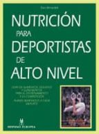 nutricion para deportistas de alto nivel dan benardot 9788425514029