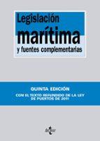 legislacion maritima y fuentes complementarias-9788430954629