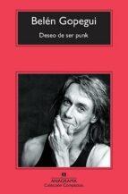el deseo de ser punk-belen gopegui-9788433976529