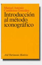 introduccion al metodo iconografico-m.a. castiñeiras-9788434466029