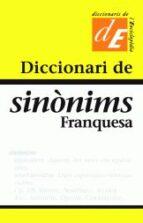 diccionari de sinonims franquesa-manuel franquesa i lluelles-9788441200029