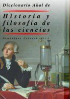 diccionario de historia y filosofia de las ciencias-dominique lecourt-9788446015529