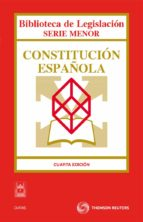 constitucion española  (4ª ed.) ricardo alonso garcia 9788447036929