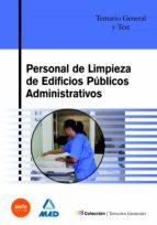 personal de limpieza de edificios publicos administrativos: temar io general y test-maite de pablo rodriguez-9788466543729