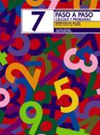 paso a paso 7. calculo y problemas: multiplicacion por una cifra-andrea pastor fernandez-francisco ruiz casado-9788466713429