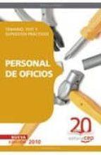 personal de oficios. temario, test y supuestos practicos 9788468101729