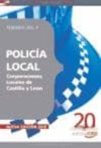 POLICIA LOCAL CORPORACIONES LOCALES DE CASTILLA Y LEON. TEMARIO V OLUMEN II