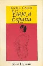 viaje a españa (1930) karel capek 9788475172729