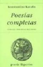poesias completas (19ª ed.)-konstantinos kavafis-9788475173429