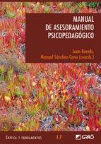 manual de asesoramiento psicopedagogico-joan bonals-manuel sanchez-cano-9788478275229