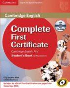 complete first certificate: student s book with answers with cd r om 9788483237229