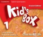 kid`s box 1 for spanish speakers class audio cds (2nd ed.)-9788483239629