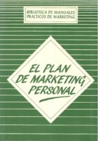 el plan de marketing personal-claudio l. soriano soriano-9788487189029