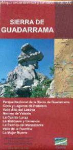 sierra de guadarrama. mapa excursionistas y turistico 1:30.000 9788494347429